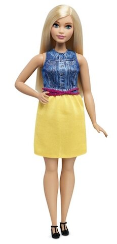 mattel barbie curvy 2