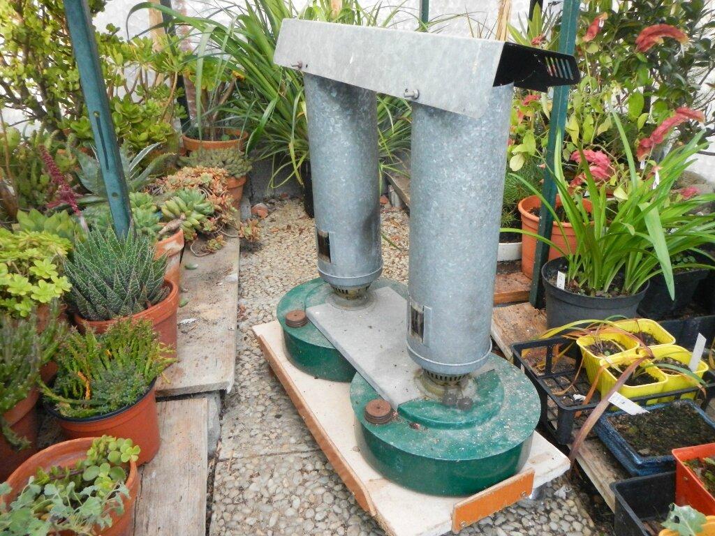 Cultiver des plantes exotiques et chauffage mamit ou for Chauffage pour serre de jardin