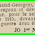 Septembre 1915 du 1 au 26