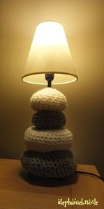 tuto diy lampe galet allume