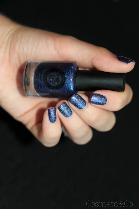 nail art ilnp indie go paillette holographique zoo h&m-6