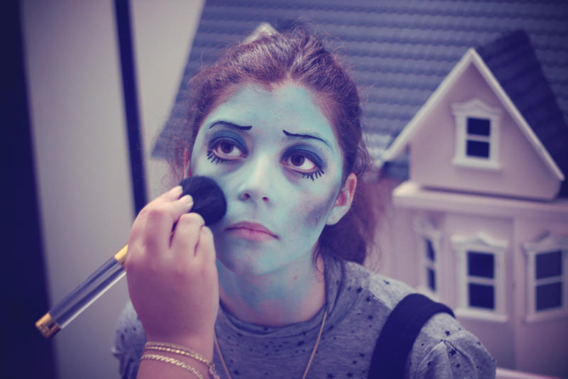 Corpse bride make up
