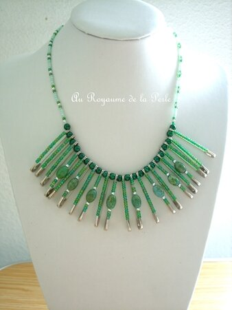Collier Indian Style