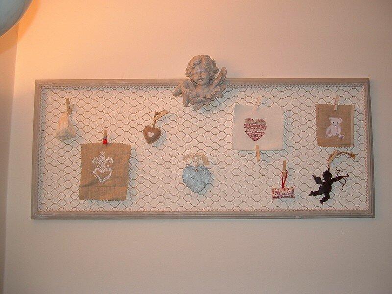 P le m le photo de bricoles et bricolage boucles d 39 anges - Fabriquer pele mele photo ...