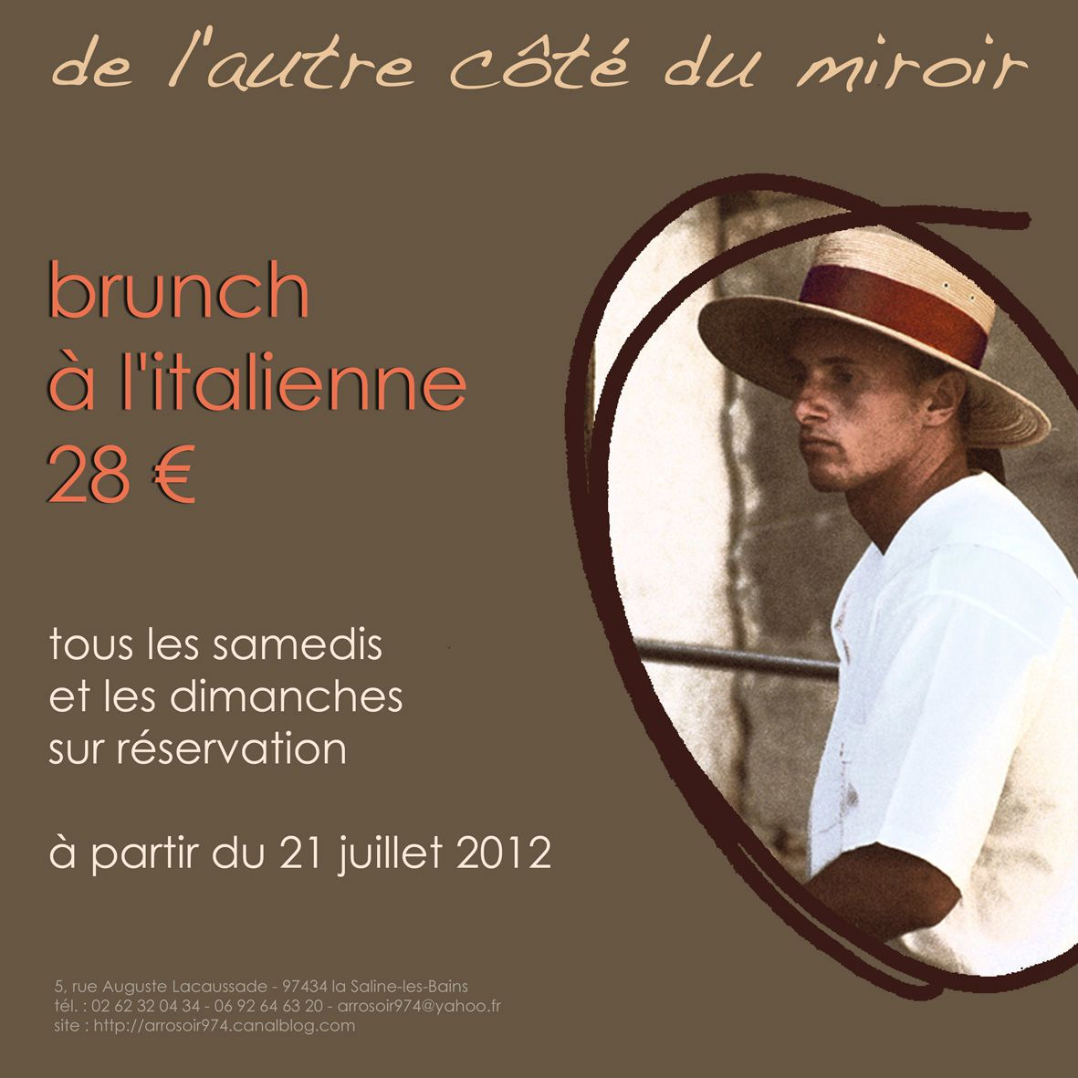 flyer brunch italien 2012