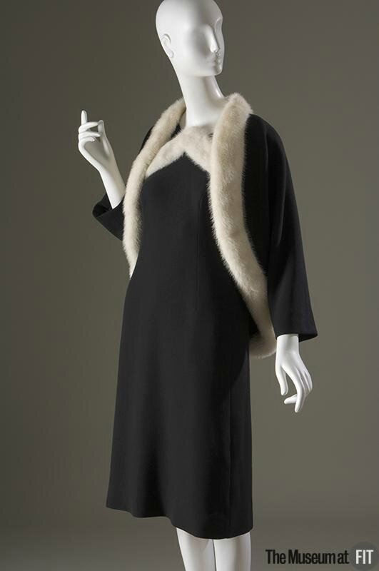 Cristobal Balenciaga, Evening set, 1967