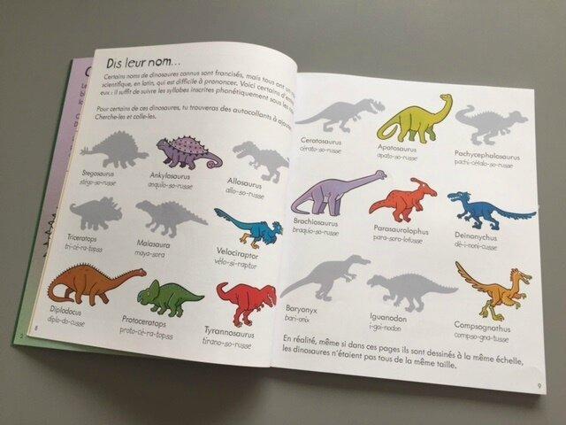 les dinosaures activités 2