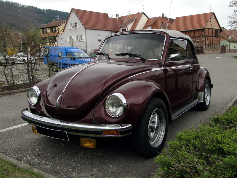 coccinelle cabriolet 1979