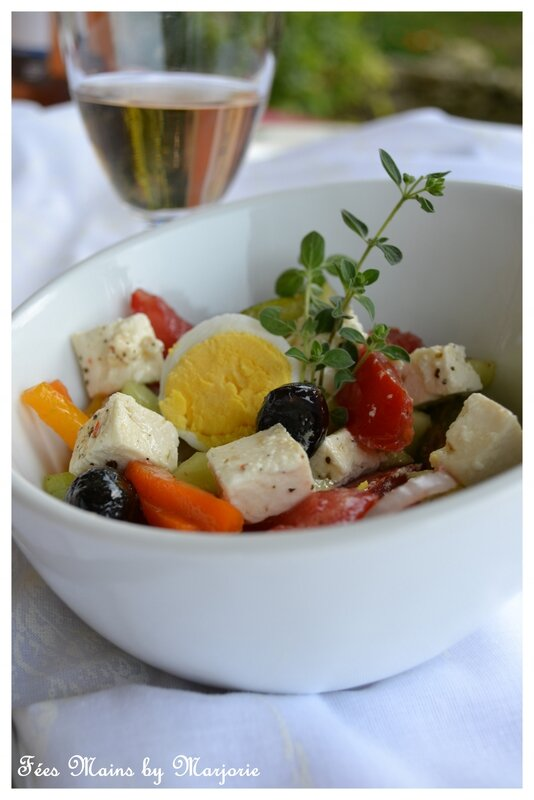 Salade à la grecque1