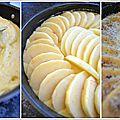 Moelleux pommes frangipane.