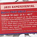 Four walls, live, nevers / café charbon, march 30 2001