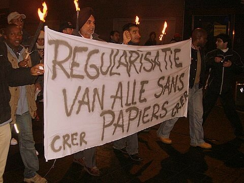 2006 - Manif a ANVERS