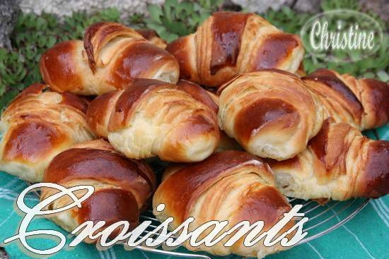 croissants recette sans prise de t te bienvenue chez christhummm. Black Bedroom Furniture Sets. Home Design Ideas