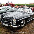 Mercedes 300 SL cabriolet (1954-1963)(1858 ex)(5ème Fête Autorétro étang d' Ohnenheim) 01