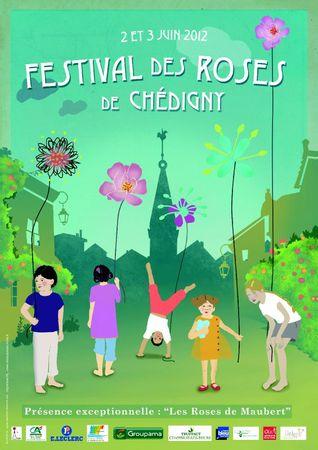 Festival des Roses de Chédigny 2012