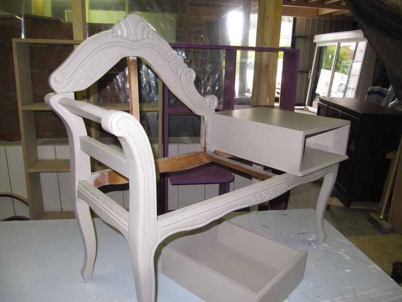 petit meuble de t l phone l 39 atelier vert anis. Black Bedroom Furniture Sets. Home Design Ideas