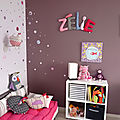 zelie prenom en tissu,chambre d'enfant,prenom decoratif,lettre en tissu