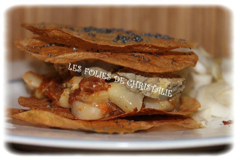 Millefeuille foie gras 5