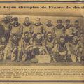 Mercredi 27 avril 1949, Champion de France de 2e série.