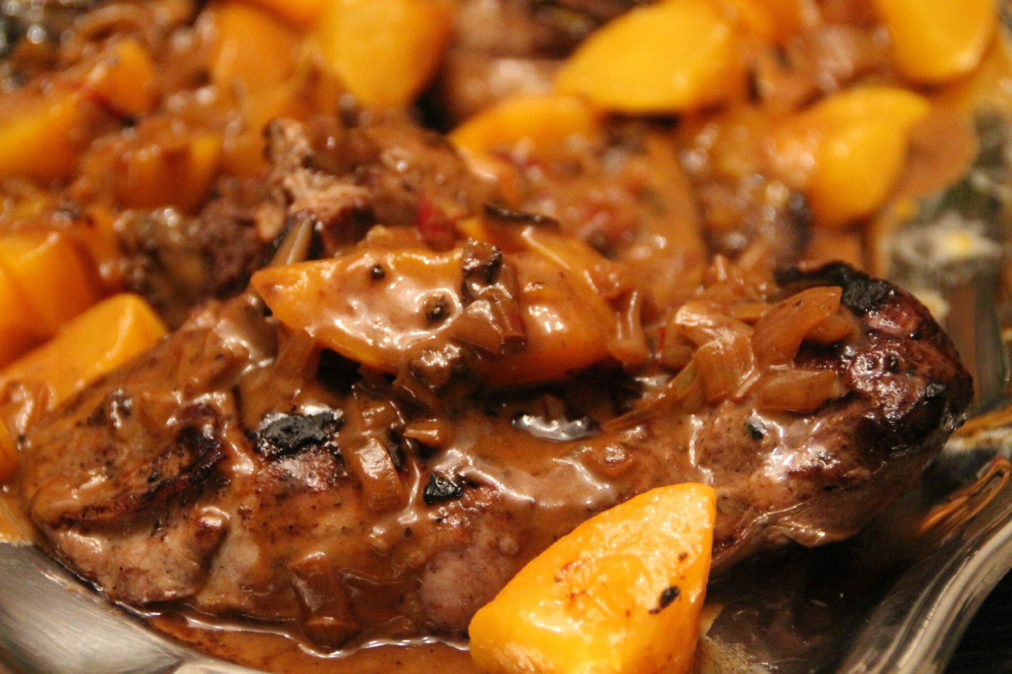 Magrets de canard sauce aigre douce la cuisine et les voyages de pripri - Recette de cuisse de canard en sauce ...