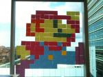 pixel art - post it - mario