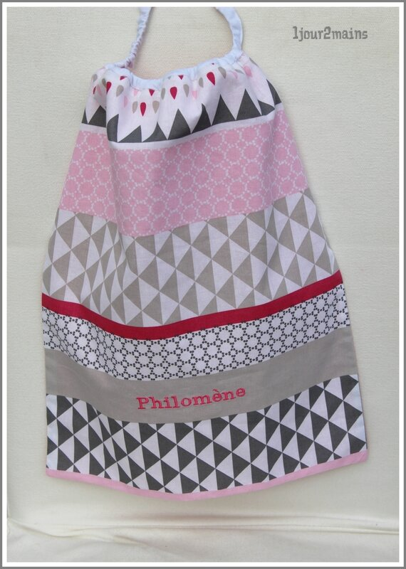 serveitte philomene rose triangle
