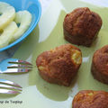 Muffins ananas - carotte