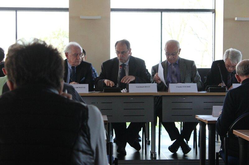 conseil EPCI communauté de communes Avranches Mont-Saint-Michel vendredi 24 avril 2014 Guénhaël Huet