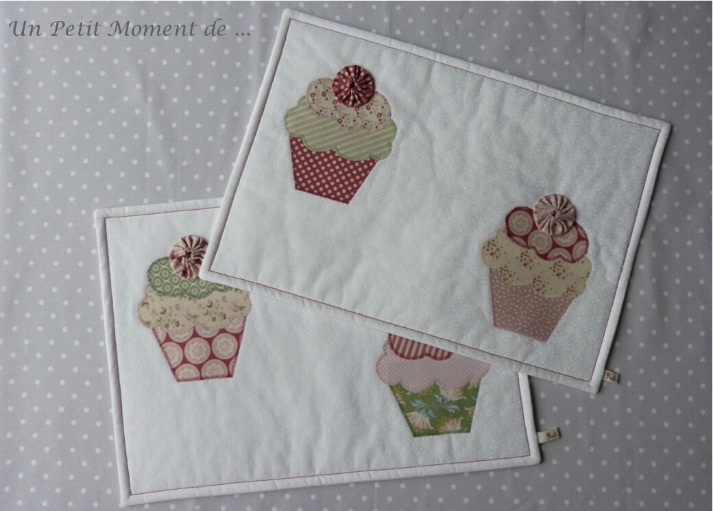 Ensemble de sets cupcakes 5