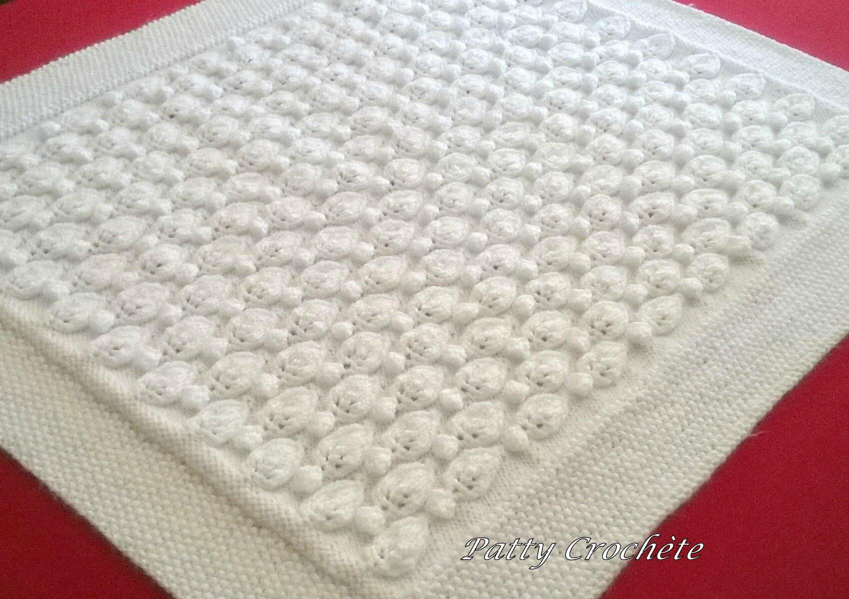 Plaid tricot facile - Apprendre a tricoter debutant ...