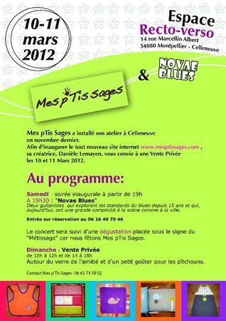 Vente Privée 10-11 Mars
