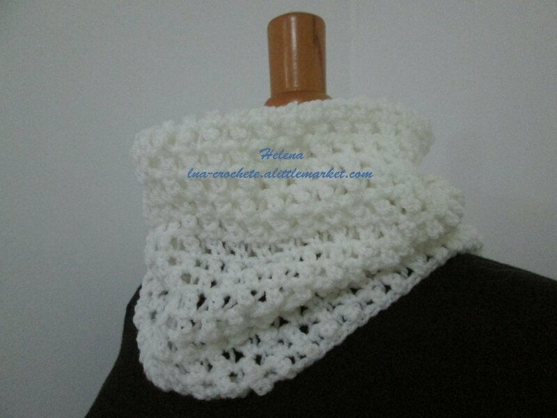 Col snood blanc (3)
