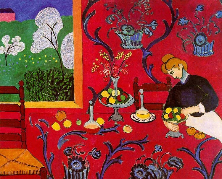 Henri Matisse - Table à manger