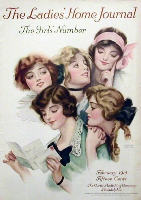 harrison fisher lady'shome journal 1914