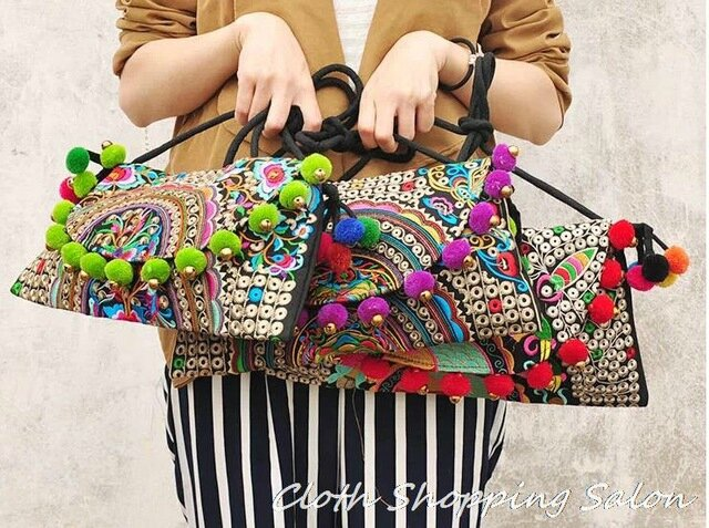 2014-New-National-Embroidered-Bags-Handmade-Ethnic-Balls-Embroidery-Shoulder-Messenger-Small-Clutch-Cover-bag-Women