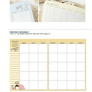 AGENDA COOKIE PLANNING MOIS