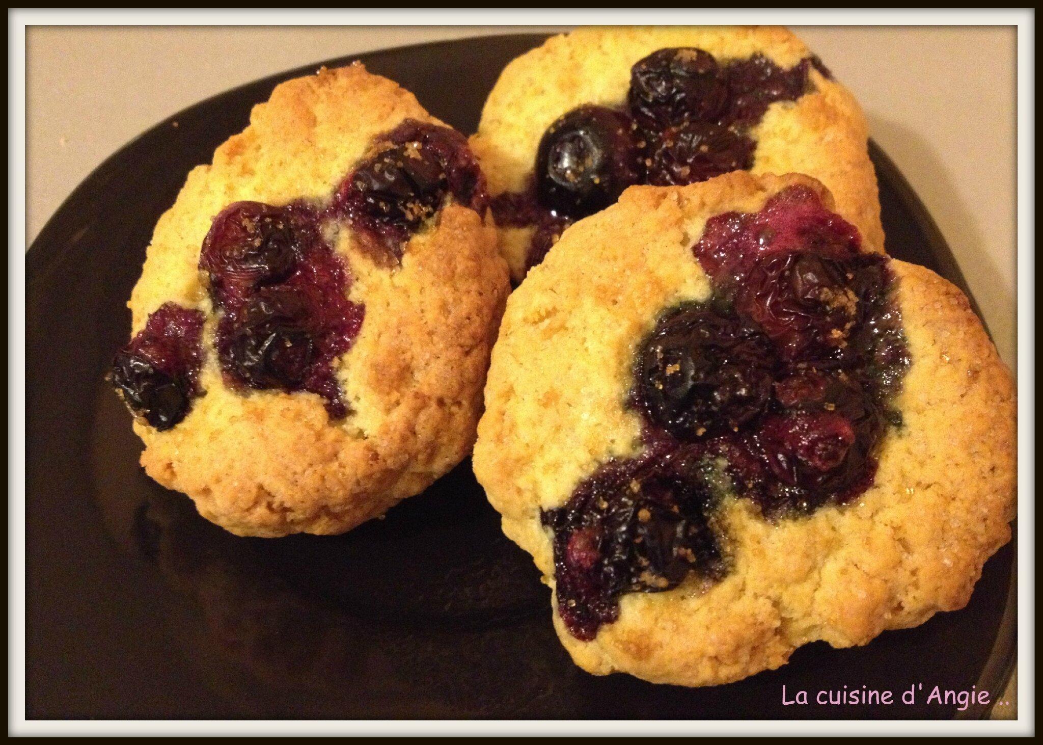 Biscuits aux myrtilles