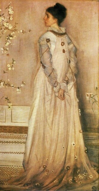 James Abbott Whistler - Symphonie couleur chair et rose Portrait de Mrs_ Frances Leyland