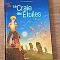 Nous avons lu le tome 2 la craie des etoiles de raphaël drommelschlager