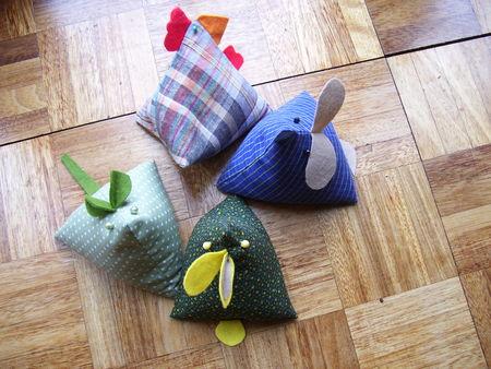animaux en tissus marine chez les anglais. Black Bedroom Furniture Sets. Home Design Ideas