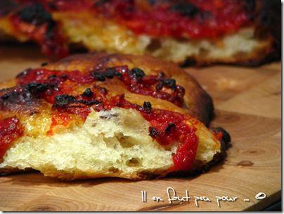 focaccia tomates vanille