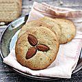Cookies aux amandes et petits-beurre {recette}