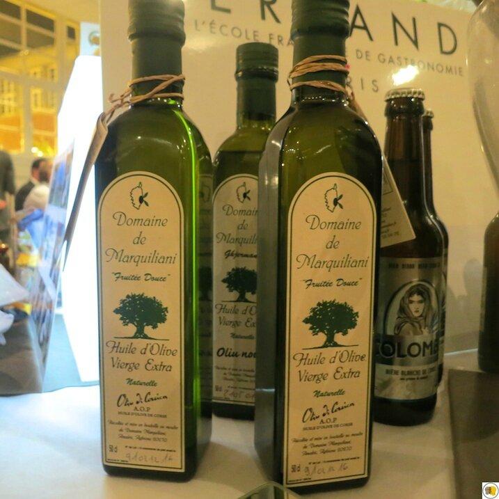 Huile d'olive d'Anne Almaric du Domaine Marquiliani