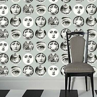beautiful papier peint fornasetti 4 84566388 max min. Black Bedroom Furniture Sets. Home Design Ideas
