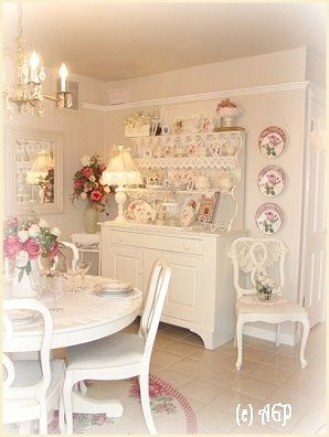 Rose Et Blanc Shabby Romantic