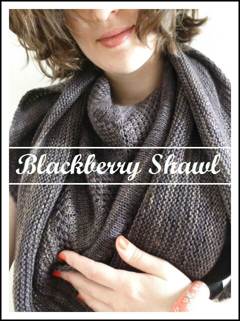 Blackberry Shawl (13
