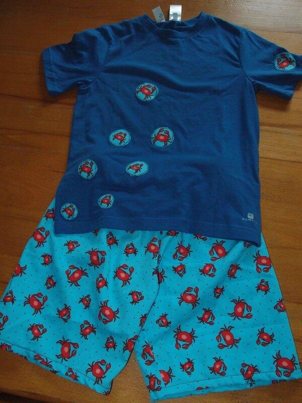 pyjashort couture