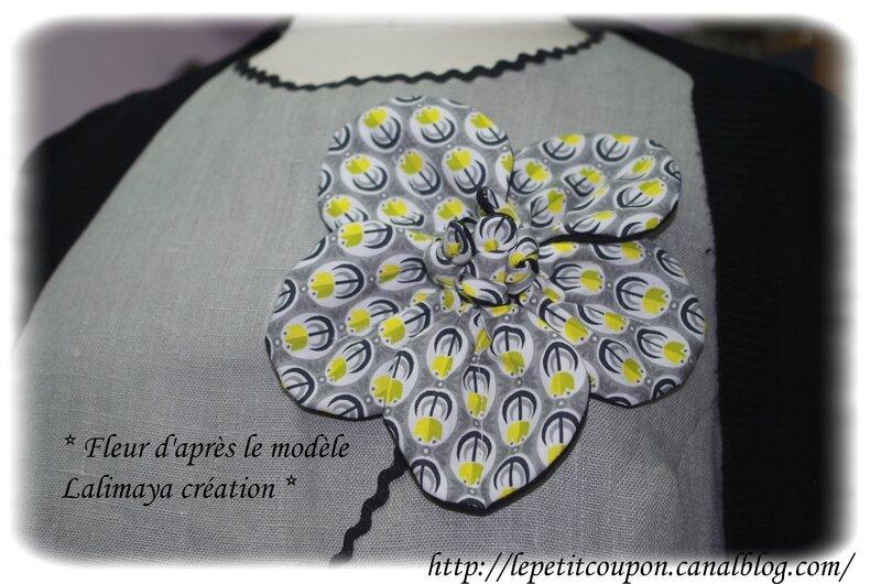 Copie de fleur tunique