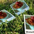 Coupe fraises mascarpone-spéculoos