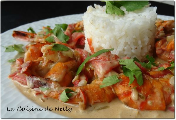 CurryVertGambas